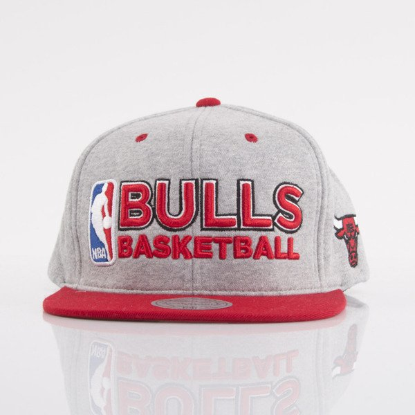 Mitchell & Ness cap snapback Chicago Bulls heather grey Heather Jersey VJ92Z