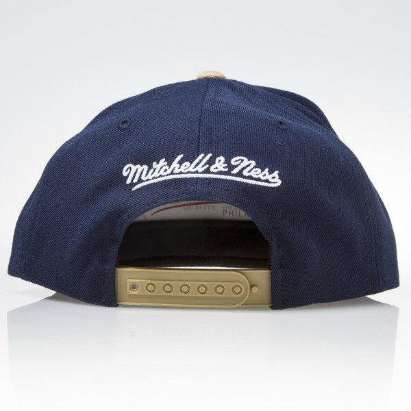 Mitchell & Ness cap snapback Chicago Bulls navy NAVY & GOLDEN VX03Z