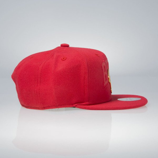Mitchell & Ness cap snapback Chicago Bulls red Lux Arch EU942