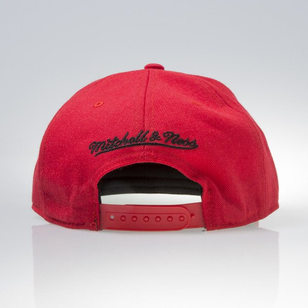 Mitchell & Ness cap snapback Chicago Bulls red WOOL SOLID NL99Z