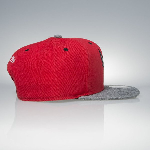 Mitchell & Ness cap snapback Chicago Bulls red / grey Greytist EU938