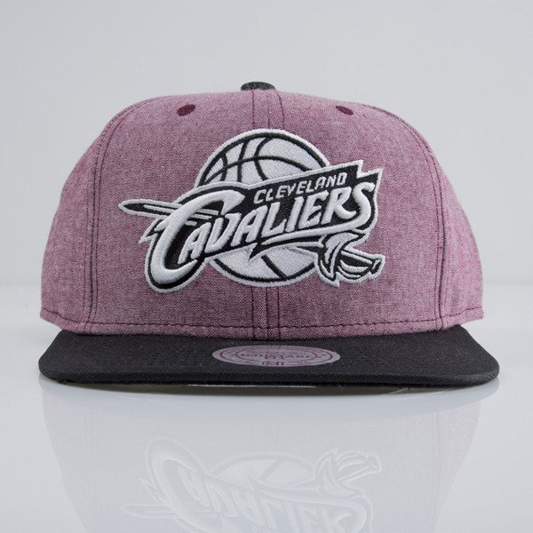 Mitchell & Ness cap snapback Cleveland Cavaliers heather claret EU362 ISLES