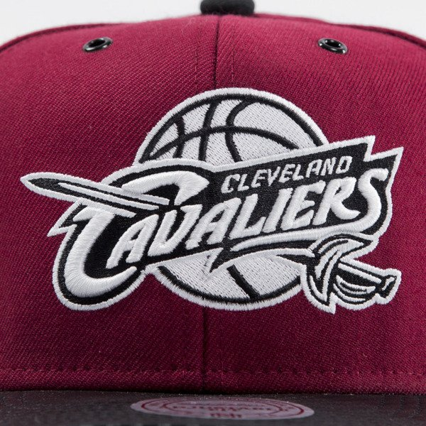 Mitchell & Ness cap snapback Cleveland Cavaliers maroon EU501 SPEEDWAY