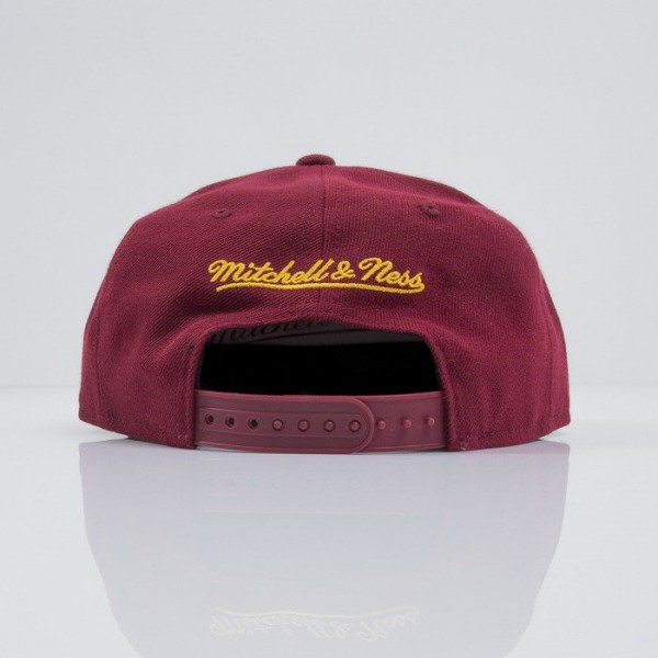 Mitchell & Ness cap snapback Cleveland Cavaliers maroon Logo Series VE31Z