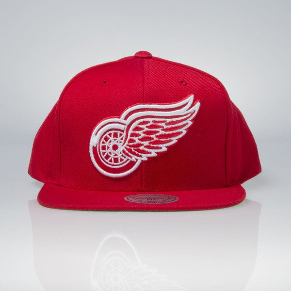 Mitchell & Ness cap snapback Detoit Red Wings red Wool Solid / Solid 2 NT80Z