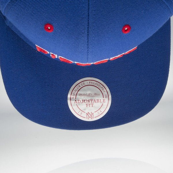 Mitchell & Ness cap snapback Detroit Pistons royal Bad Boy Era 1988-89 NBA Champions VP03Z