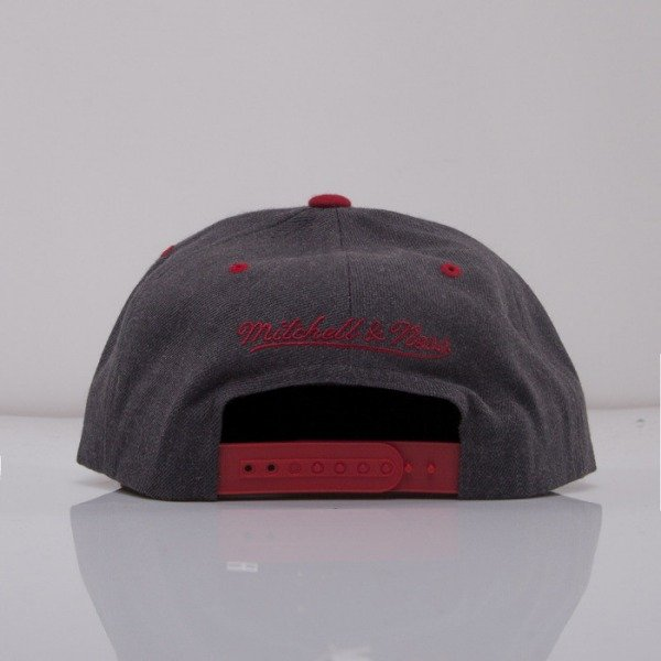 Mitchell & Ness cap snapback Detroit Red Wings dark grey Charcoal Dune 2Tone EU426