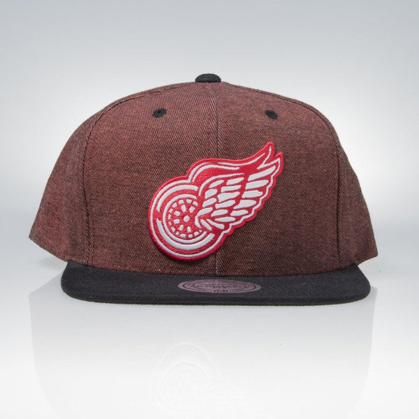 Mitchell & Ness cap snapback Detroit Red Wings red Denim Harry VE88Z