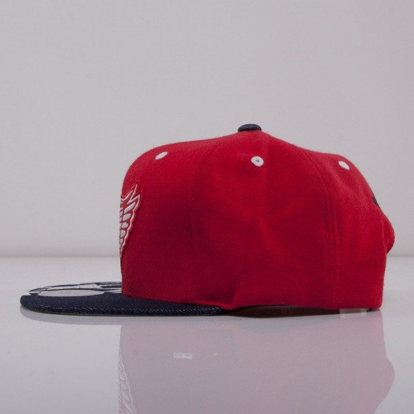 Mitchell & Ness cap snapback Detroit Red Wings red NY56Z