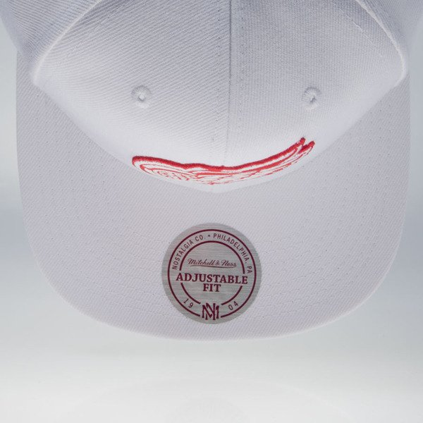 Mitchell & Ness cap snapback Detroit Red Wings white WOOL SOLID NZ980