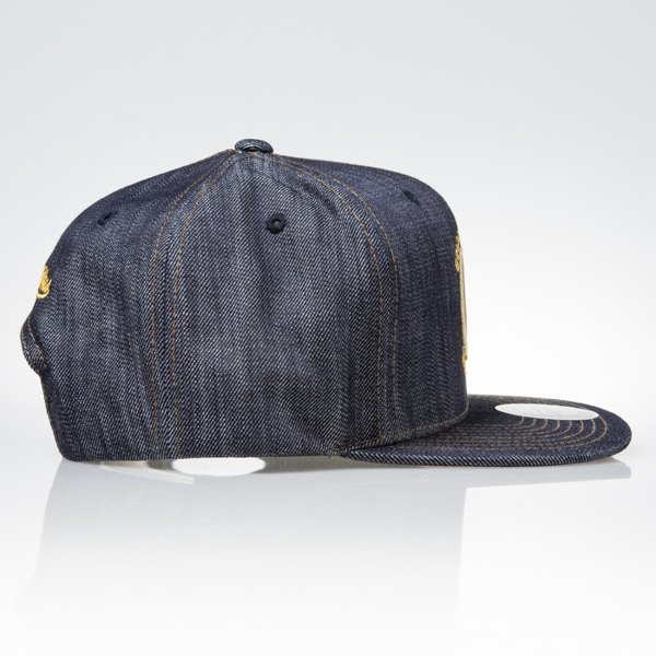 Mitchell & Ness cap snapback Golden State Warriors DARK DENIM VW46Z