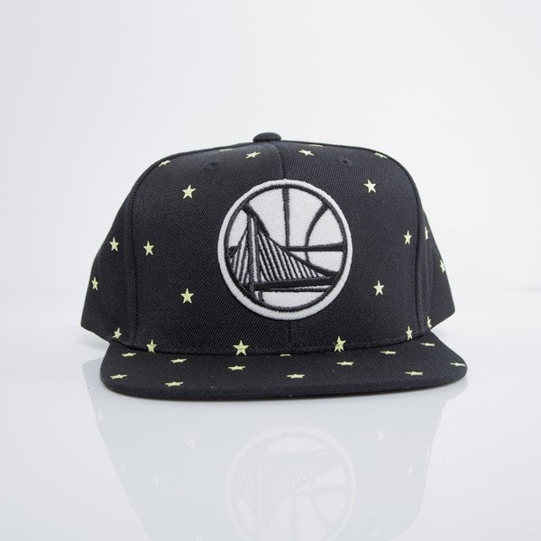 Mitchell & Ness cap snapback Golden State Warriors black GITD Starry Night VU42Z