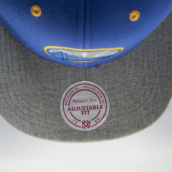 Mitchell & Ness cap snapback Golden State Warriors blue / grey Greytist EU938