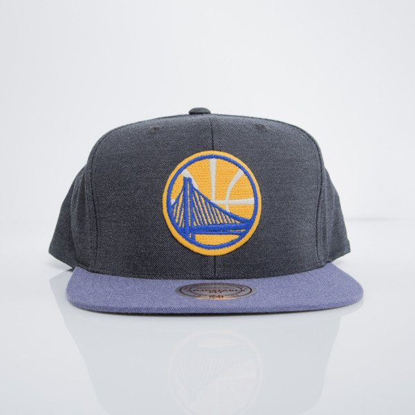 Mitchell & Ness cap snapback Golden State Warriors heather black Heather Profile EU780