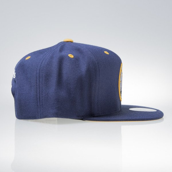 Mitchell & Ness cap snapback Golden State Warriors navy NAVY & YELLOW VX05Z