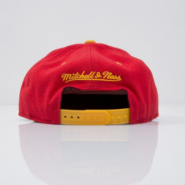 Mitchell & Ness cap snapback Houston Rockets red Team Arch NA80Z