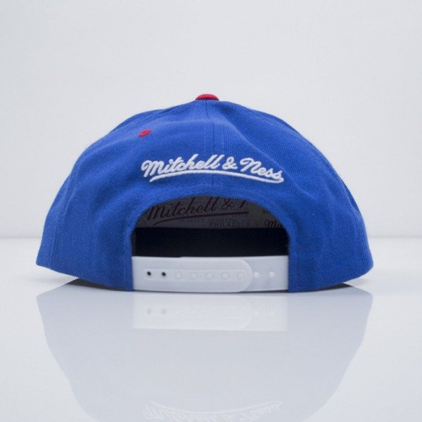 Mitchell & Ness cap snapback Los Angeles Clippers blue Reflective XL Logo VF51Z