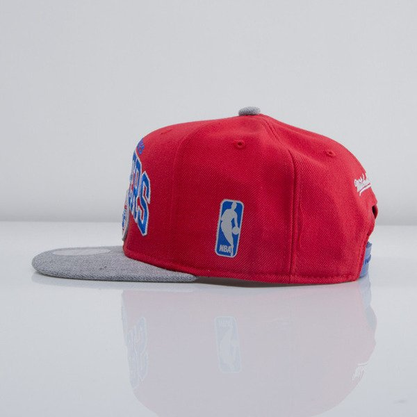 Mitchell & Ness cap snapback Los Angeles Clippers red Forward Line EU435