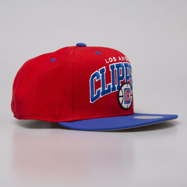 Mitchell & Ness cap snapback Los Angeles Clippers red Team Arch NA80Z