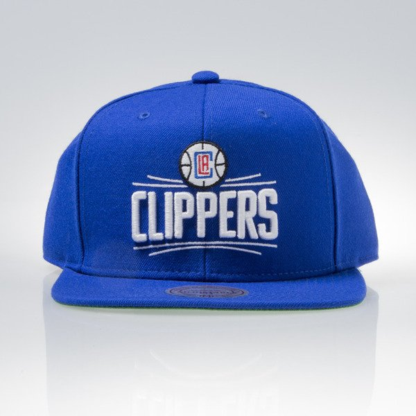 Mitchell & Ness cap snapback Los Angeles Clippers royal WOOL SOLID NL99Z