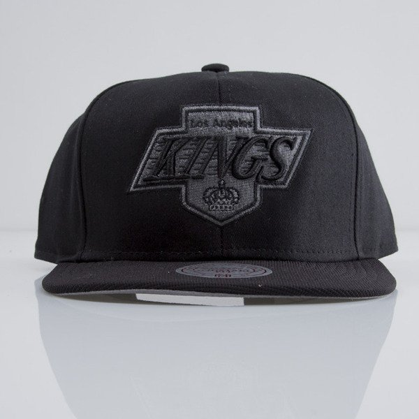 Mitchell & Ness cap snapback Los Angeles Kings black EU283 NUTEK