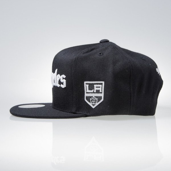 Mitchell & Ness cap snapback Los Angeles Kings black GOTHAM CITY VW50Z