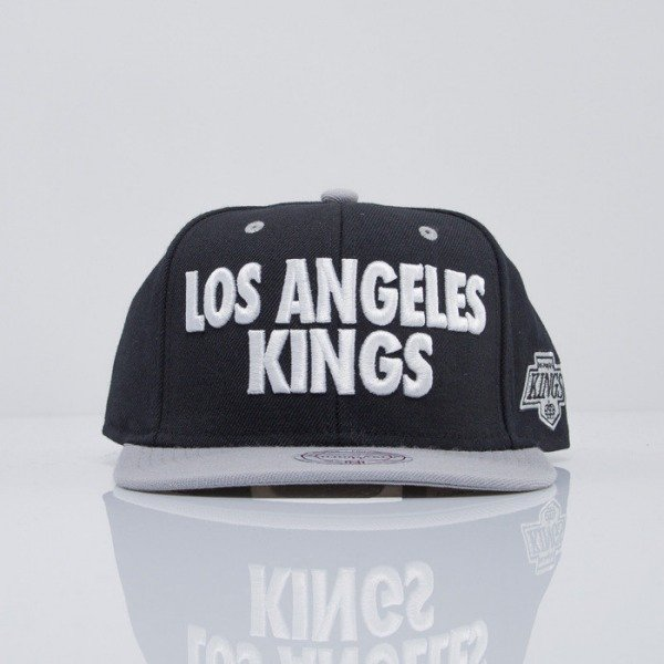 Mitchell & Ness cap snapback Los Angeles Kings black Score EU300