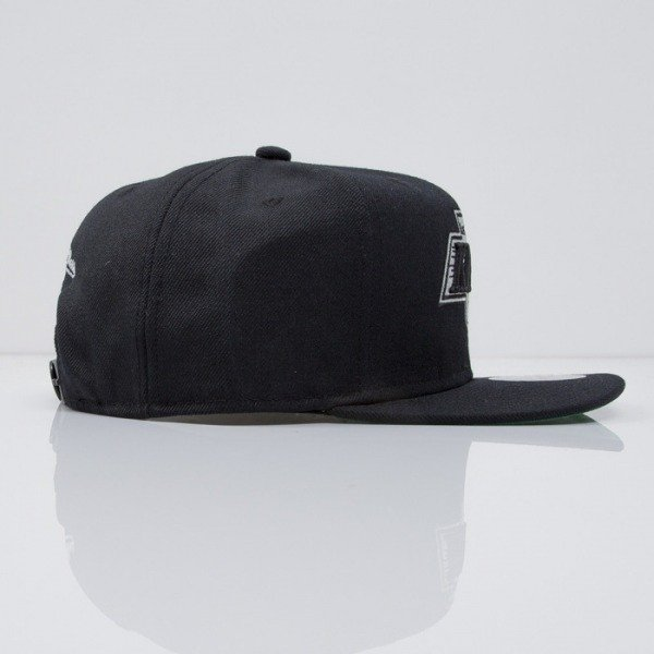 Mitchell & Ness cap snapback Los Angeles Kings black  WOOL SOLID NZ980