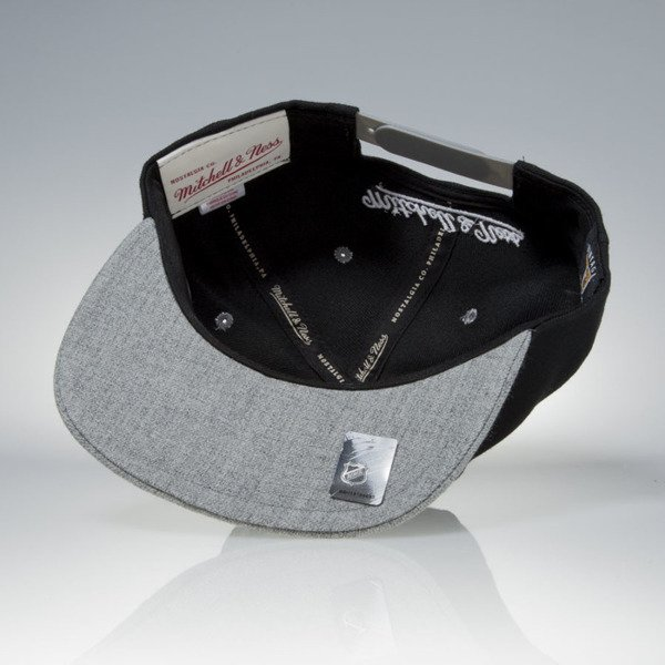 Mitchell & Ness cap snapback Los Angeles Kings black / grey Greytist EU938