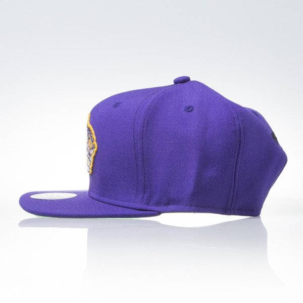 Mitchell & Ness cap snapback Los Angeles Kings purple WOOL SOLID 2  NL17Z