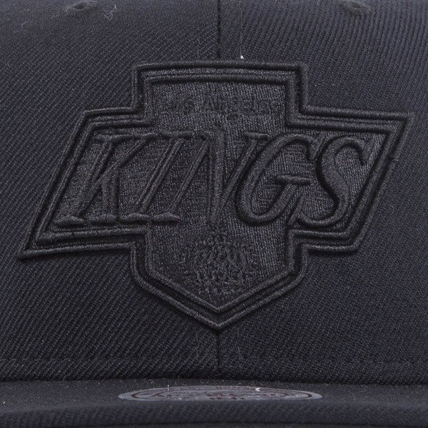 Mitchell & Ness cap snapback Los Angeles Kings vintage black All Black EU788