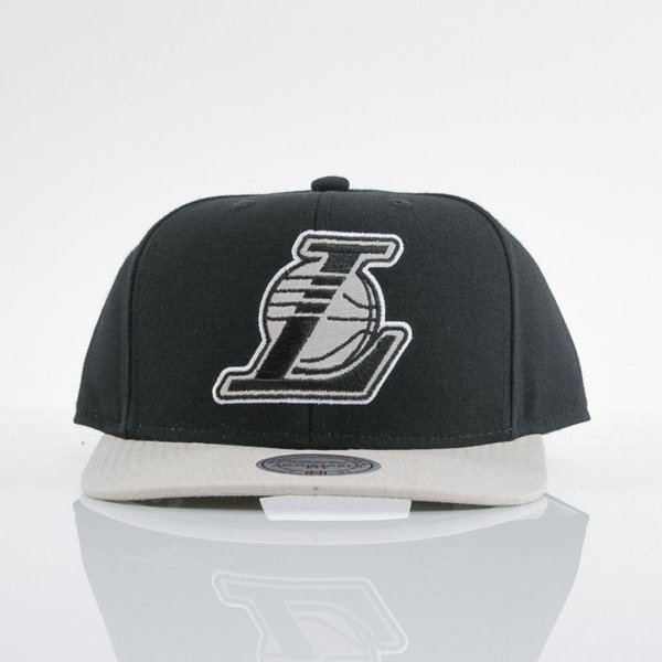 Mitchell & Ness cap snapback Los Angeles Lakers black Command EU537
