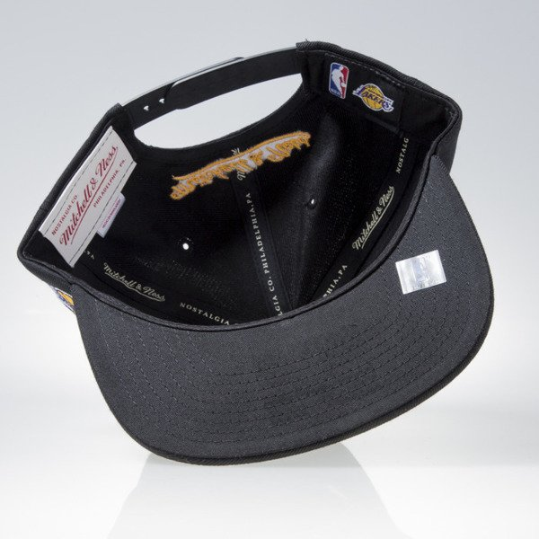 Mitchell & Ness cap snapback Los Angeles Lakers black GOTHAM CITY VW49Z