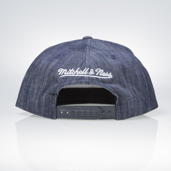 Mitchell & Ness cap snapback Los Angeles Lakers blue Blue Linen VR14Z