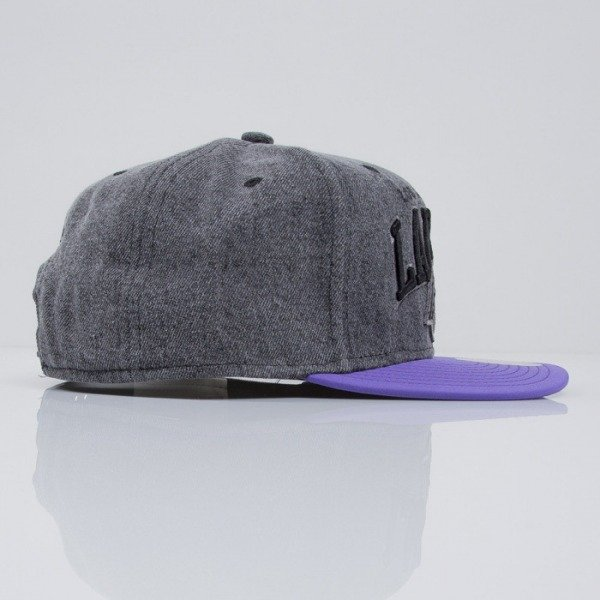 Mitchell & Ness cap snapback Los Angeles Lakers dark grey Boardwalk EU443