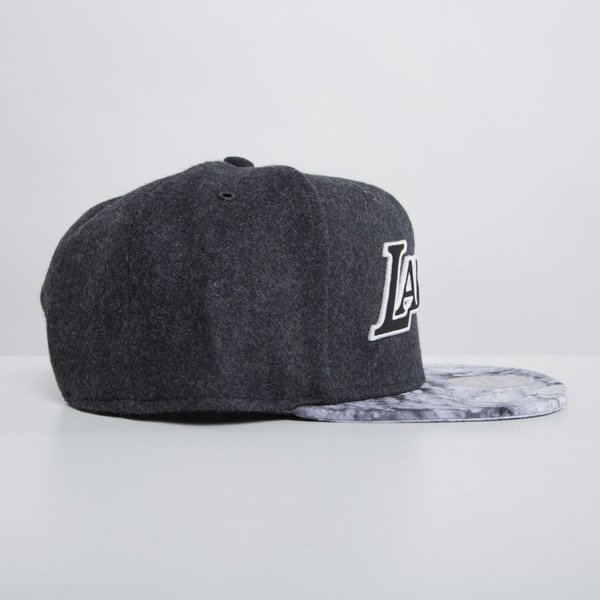 Mitchell & Ness cap snapback Los Angeles Lakers dark grey Volcano Ash EU697