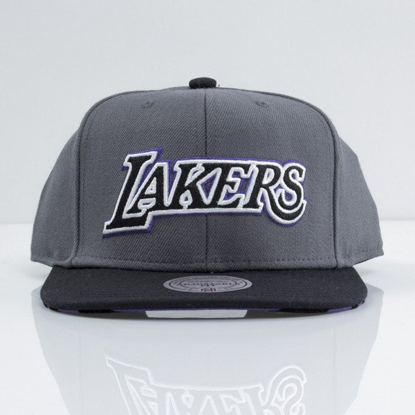 Mitchell & Ness cap snapback Los Angeles Lakers purple Team Vivid EU434