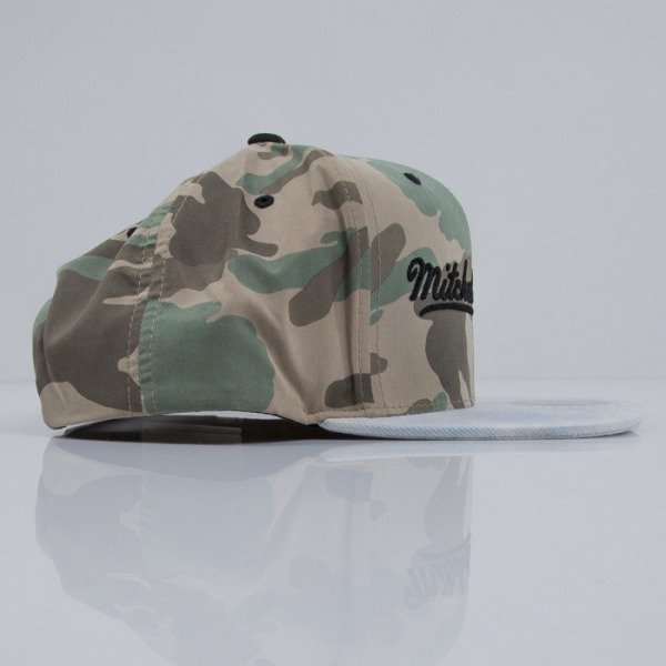 Mitchell & Ness cap snapback M&N Logo camo Distinguished American VF15Z