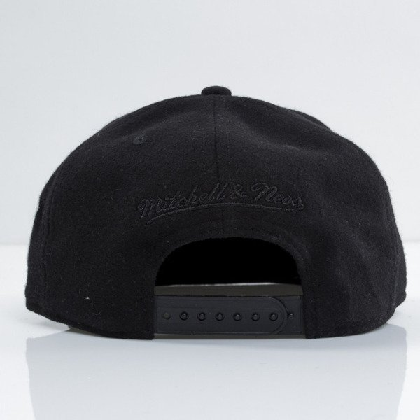 Mitchell & Ness cap snapback M&N black Retro Melton Wool EU459