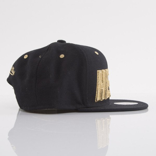 Mitchell & Ness cap snapback Miami Heat black EU173 TEAM GOLD