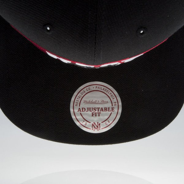 Mitchell & Ness cap snapback Miami Heat black Winning Streak VU81Z