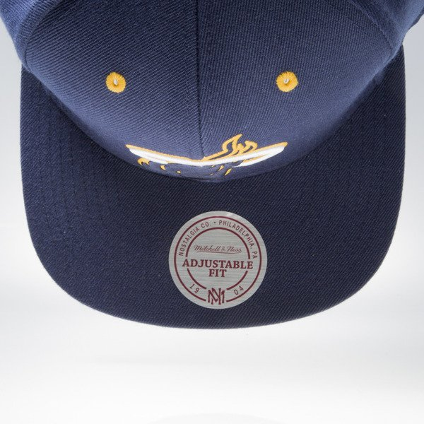 Mitchell & Ness cap snapback Miami Heat navy NAVY & YELLOW VX05Z