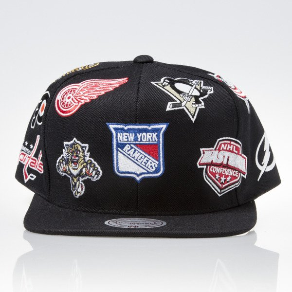 Mitchell & Ness cap snapback NHL Eastern black ALL OVER EU879