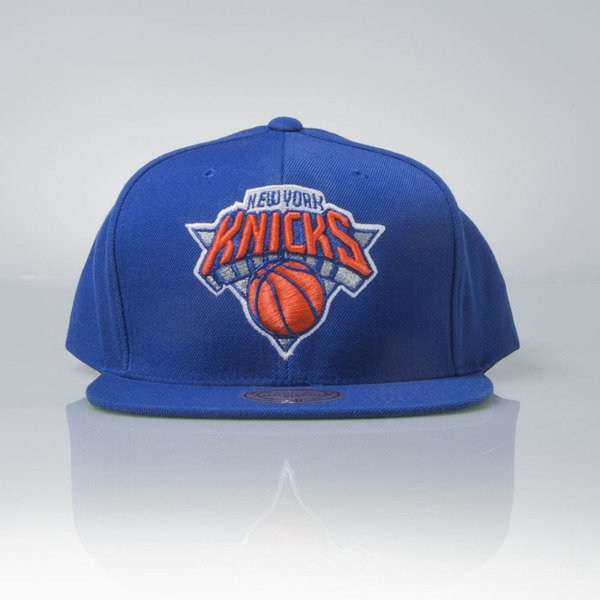 Mitchell & Ness cap snapback New York Knicks blue Wool Solid / Solid 2 NL99Z