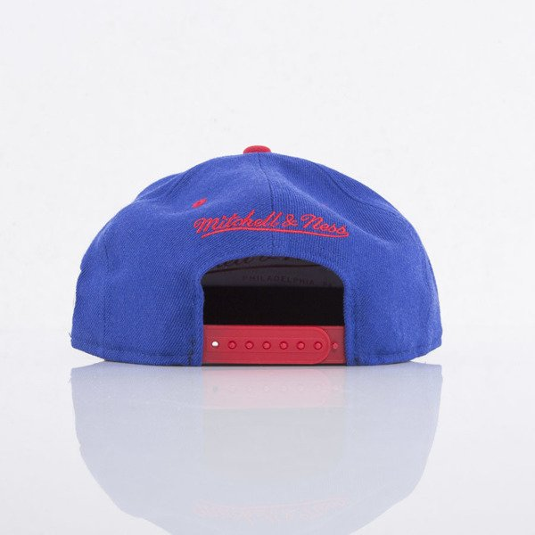 Mitchell & Ness cap snapback New York Rangers  blue / red Team Arch ND12Z