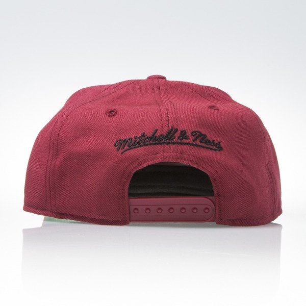 Mitchell & Ness cap snapback Phoenix Coyotes burgundy WOOL SOLID NT80Z