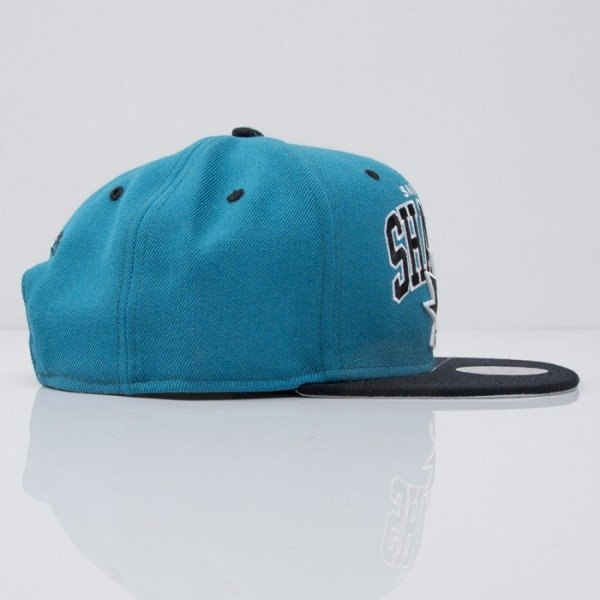 Mitchell & Ness cap snapback San Jose Sharks turqoise Team Arch ND12Z