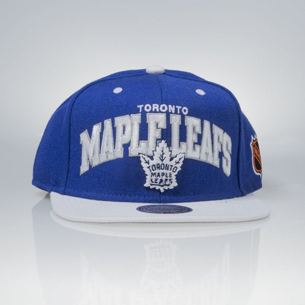 Mitchell & Ness cap snapback Toronto Maple Leafs blue TEAM ARCH ND12Z