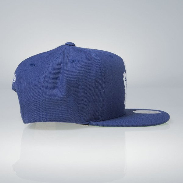 Mitchell & Ness cap snapback Toronto Maple Leafs blue Wool Solid / Solid 2 NT81Z