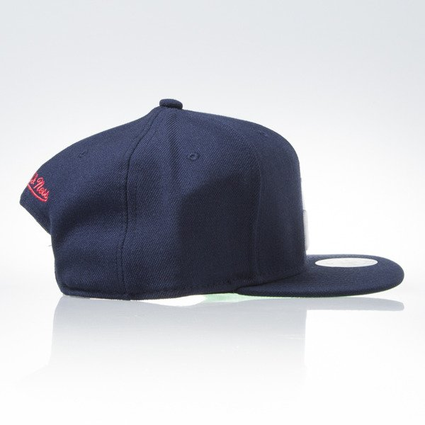 Mitchell & Ness cap snapback Washington Wizards navy WOOL SOLID NZ979